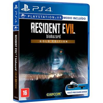Resident Evil  7 Gold Edition - PS4