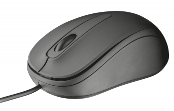 Mouse Ziva Compact Optical T21508 Cinza 1000DPI - Trust