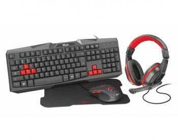 Kit Ziva 4-IN-1 Gaming Bundle  - Trust