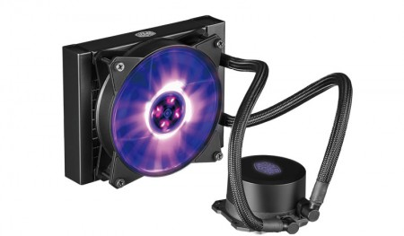 CPU Water Cooler MasterLiquid ML120L RGB - Cooler Master  - foto principal 1