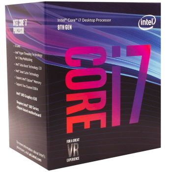 Processador Core i7-8700 Coffee Lake 3.2GHz 12MB LGA 1151 - Intel