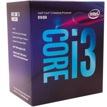 Processador Core i3-8100 Coffee Lake 3.6GHz 6MB LGA 1151 - Intel