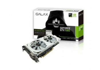 Placa de Vídeo GeForce GTX 1060 6GB DDR5 EXOC WHITE EXTREME - GALAX