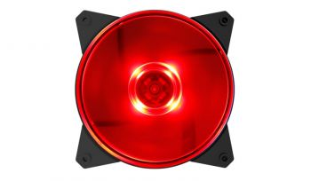 Case Fan MasterFan MF120L 120mm Led Red - Cooler Master