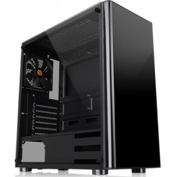 Gabinete V200 TG SPCC/TEMPERED GLASS - Thermaltake