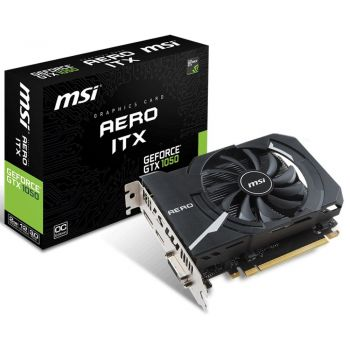 Placa de Vídeo GTX 1050 2GB Aero ITX - MSI