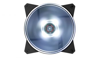 Case Fan MasterFan MF120L 120mm Led White - Cooler Master
