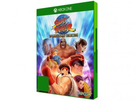 Street Fighter 30th Anniversary Collection - Xbox One  - foto principal 1