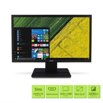 Monitor LED 23,6'' Full HD V246HQL - ACER