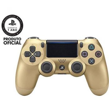 Controle Dualshock 4 Ouro  - PS4