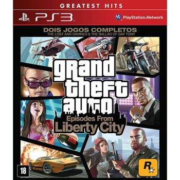 Grand Thef.T Auto - GTA V - Episodes From Liberty City - PS3