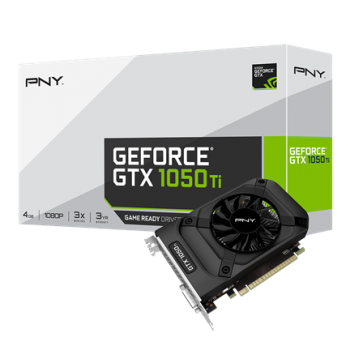 Placa de Vídeo GeForce GTX 1050TI 4GB DDR5 - PNY