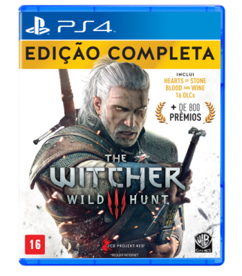 The Witcher 3 Wild Hunt: Edição Completa - PS4