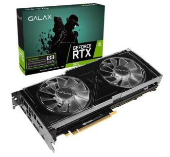 Placa de Vídeo GeForce RTX 2070 8GB DDR6 OC - Galax
