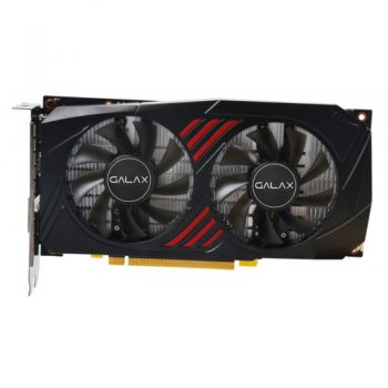 Placa de vídeo GeForce GTX 1060 OC RedBlack 6GB GDDR5X - Galax