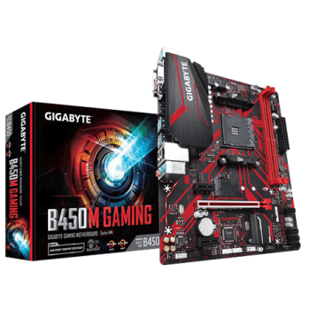Placa Mãe B450M GAMING DDR4 AM4 - Gigabyte