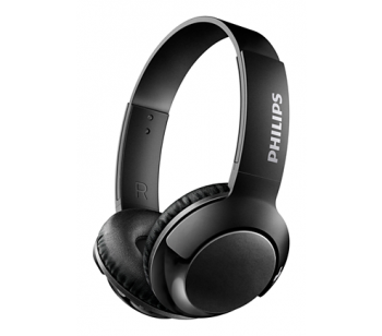 Headset Bluetooth Bass + SHB3075 Black - Philips