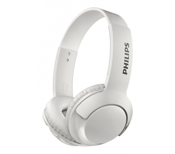 Headset Bluetooth Bass + SHB3075 White - Philips