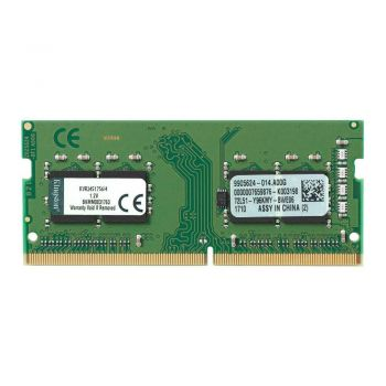 Memória Ram Notebook 4GB DDR4 2400Mhz - Kingston