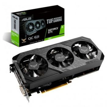 Placa de Vídeo GeForce GTX 1660 6GB DDR5 TUF Gaming OC - ASUS