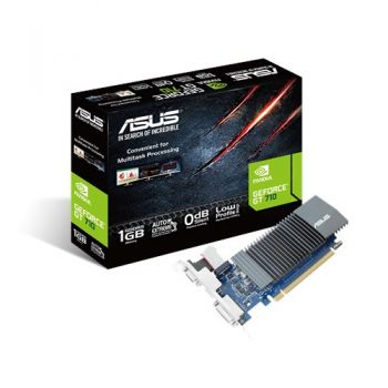Placa de Vídeo GeForce GT 710 1GB DDR5 - ASUS
