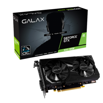 Placa de Vídeo GeForce GTX 1650 Super Ex 1-Click OC 4GB GDDR6 - GALAX