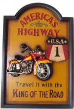 Quadro Vintage Americas High Way NF-1191