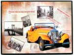 Quadro Vintage Old Car Mod MG