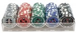 Poker Chip Set 100 Oficial Apex Holografica 11,5g