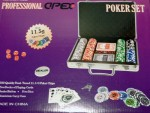 Poker Chip Set 200 Oficial Apex Holografica 11,5g