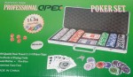 Poker Chip Set 300 Oficial Apex Holografica 11,5g