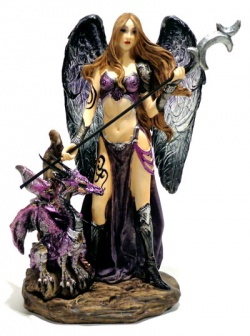 Warrior Angel With Dragon 00514 Mod C  - foto principal 1