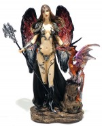 Warrior Angel With Dragon 00514 Mod A