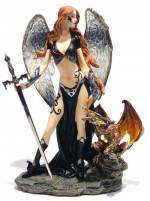 Warrior Angel With Dragon 00515 Mod B