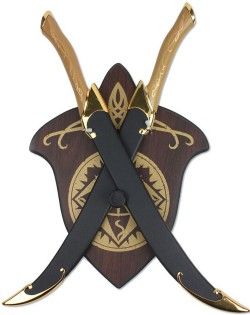 Escudo Fighting Knives Of Legolas Lord Of The Rings com Bainha Sb3372s  - foto principal 1