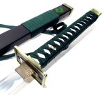 Espada Katana Dragon Green SF9551B
