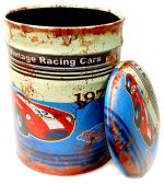 Puff Metalico Vintage Racing Cars Mod 548 Grande