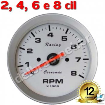 Contagiro Cronomac Racing - 8.000RPM ø100mm - 2/4/6/8 Cil