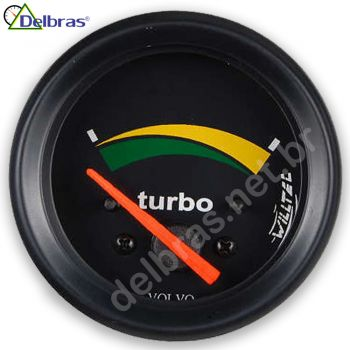 Pressão do Turbo - 24V - ø60mm - Aro Preto | VOLVO |