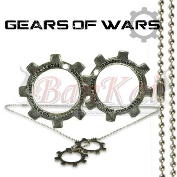 Colar Game  Gears Of Wars