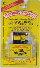Matchbox Originals Authentic Recreations 18 Caterpillar Bulldozer