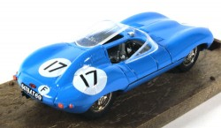 Jaguar D-Type 1954-60 Le Mans 1/43 Brumm Made in Italy  - foto principal 2