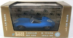 Jaguar D-Type 1954-60 Le Mans 1/43 Brumm Made in Italy  - foto principal 3