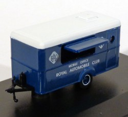 Mobile Trailer RAC Royal Aumobile Club 1/76 Oxford Models  - foto principal 1