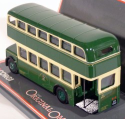 Leyland PD2 BMMO Tinfront MCW Orion Double Deck Bus Chesterfield Corporation 1/76 Corgi 40901  - foto principal 2