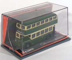 Leyland PD2 BMMO Tinfront MCW Orion Double Deck Bus Chesterfield Corporation 1/76 Corgi 40901  - foto principal 3