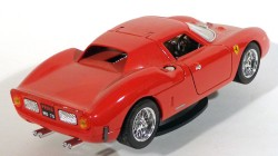 Ferrari 250 Lemans 1965 Red 1/18 Burago Made in Italy  - foto principal 2