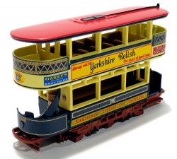Preston Tram Car 1920 Birmingham England 1/87 Matchbox Collectibles Models of Yesteryear YET01  - foto principal 1