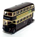 Leyland Titan PD1 Highbridge Double Deck Bus 1/76 Leicester City Transport EFE Gilbow 15901