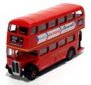 AEC Regent RT Class Double Deck Bus 1/76 London Transport - Central Area Route 84 - Air France Adverts EFE Gilbow 10116